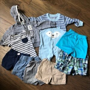 6-12 month baby boy bundle